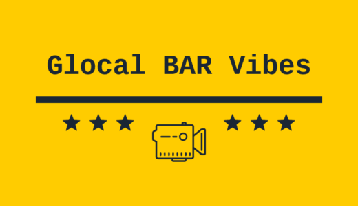 Glocal BAR Vibes Youtube channel will start on 25th Tuesday (Japan time)